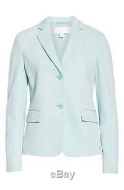 Nouveau Hugo Boss Jomanda - Tricoté Veste / Blazer En Jersey, Taille Menthe 6 Prix De Vente Conseillé 595 $