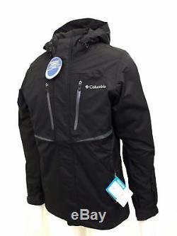 Nouveau Manteau De Veste De Ski Imperméable Froid Pour Hommes Columbia De 200 $ Frozen Granular Omni Heat