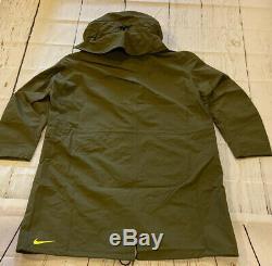 Nouveau Nike Acg Nikelab Gore-tex Jacket Hoodie Mens Grand Olive Acronyme Aq3516-395