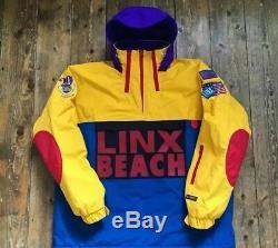 Nouveau Polo De Plage Neige Linx Beach Mk1 S R Lauren Hip Hop Wutang Taille M