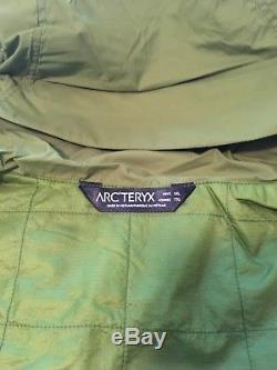 Nouveau Veste À Capuchon Isolé Arc'teryx Atom Sl Gator À Capuche XXL 2xl Arcteryx Pour Hommes