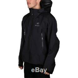 Nouveauté Arc'teryx Beta Ar Jacket Large Black Goret Jacket Shell Pour Hommes