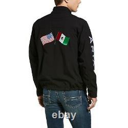 Nouvelle Équipe Masculine Ariane Black États-unis/mexique Softshell Jacket 10033523