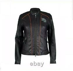 Nouvelle Marque Harley Davidson Veste Pour Dames Real Leather New Mode Us Stock
