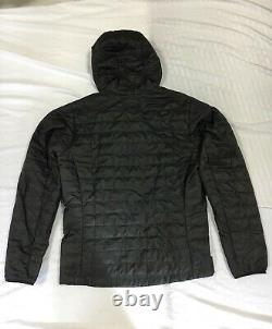 Nouvelle Patagonia Nano Puff Hoody Lightweight Insulated Jacket Black Mens 84222