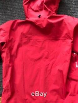 Nouvelle Veste Arc'teryx Sabre Gore-tex Recco Pour Homme Red Beach XL (pdsf) 625 $