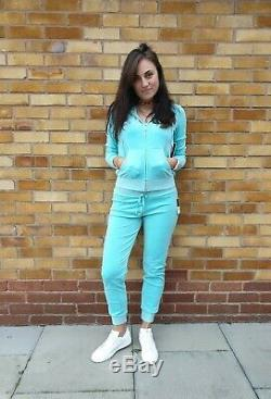 Nouvelles Couture Femmes Juicy Survêtement Ultra Sz M Velour Luxe Jacket + Bas 220 £