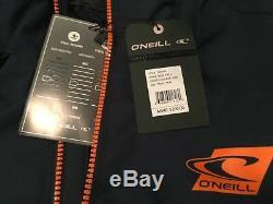 Nwt 200,00 $ O'neill Manteau Ski / Neige Isolé Exile Pour Homme Bleu Marine Taille Large