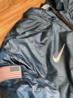 Nwt $ 300 Au Détail Nike Nikelab Équipe Du Sommet Olympique D'hiver USA Veste 916645-474