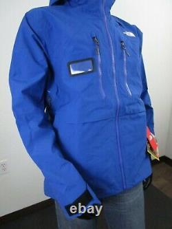 Nwt Mens Tnf The North Face Mountain Pro Gore Tex 3l Hard Shell Veste De Ski Bleu