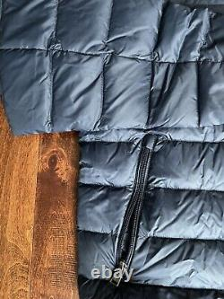 Nwt Polo Ralph Lauren Water Reperlent Navy Bleu Paquet Down Veste Sz L