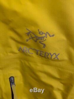 Nwts Arcteryx Mens Alpha Fl Gore-tex Jacket Pro. X-large. Lichen (détail 425 $)