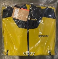 Nwts Patagonia Mens Descensionist Ski / Snowboard Jacket. Vert Textile (msrp 449 $)