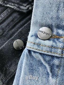 Palm 2020 Anges Quelques Gros Logo Veste De Mode Denim Casual Men