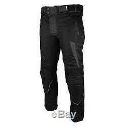 Pantalon De Veste En Cuir Blindé Imperméable À L'eau De Costume De Moto Pour L'hiver