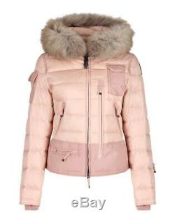 Parajumpers Skimaster Jacket Taille S Uk 10 Neuf £ 699 Rose Poudré