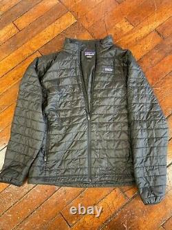 Patagonia Nano Puff Jacket Pour Hommes, Taille X-large Noir
