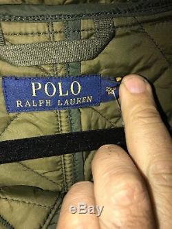Polo Ralph Lauren B & T Matelassée Parka / Bombardier Jkt 2xb Haute Et Puissante Nouveau
