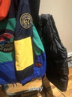 Polo Ralph Lauren Sportman Anorak Demi-zip Veste Homme Colorblock 2xl XXL