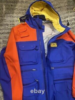 Polo Ralph Lauren Veste De Campagne Hi-tech Homme Med Waterproof Sport Anorak 598 $+