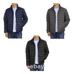 Polo Ralph Lauren Veste Packable Down Puffer Manteau Sans Capuche - 3 Couleurs