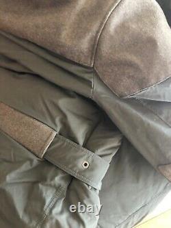 Ralph Lauren Purple Label Rlx Wool Hybrid White Down Parka Jacket Coat 2 995 $