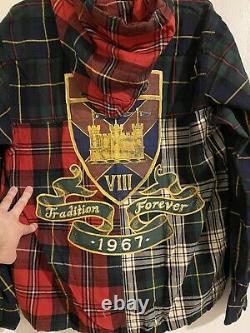 Rare Polo Ralph Lauren Tradition Forever 1967 Championship Plaid Jacket Sz L T.n.-o.