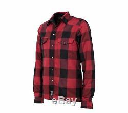 Rksports Moto Lumberjack Moto Unisexe Fabriqué Avec Kevlar Shirt Armure Ce