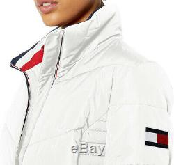 Short Tommy Hilfiger Chevron Quilted Heritage Puffer Jacket