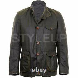 Skyfall James Bond Élégant Daniel Craig Military Vintage Casual Cotton Jacket
