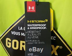 Sous La Tempête Armure Gore-tex Paclite Jacket Lime Green New 1271465-324 (taille 2xl)