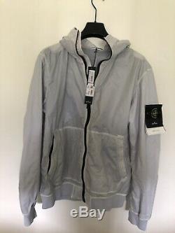 Stone Island Ice White Veste Lamy Flock-neuve Avec Étiquettes - Taille XL