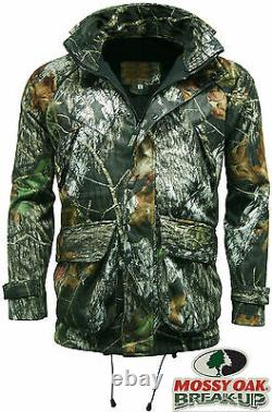 Stormkloth Mens Recon Mossy Oak Waterproof Camouflage Jacket Hunting Shooting