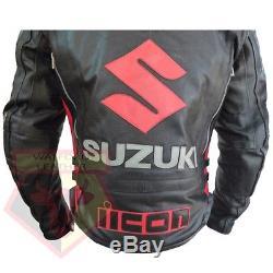 Suzuki 4269 Blouson Ce Blouson Ce En Cuir Ceinturé En Cuir
