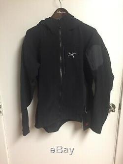 Sweat À Capuche Arcteryx Homme Noir Gamma MX Grand Nouveau Avec Étiquettes