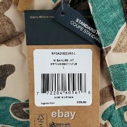 T.-n.-o. 229 $ La Face Du Nord Taille Grand Homme Frogskin De Canard Camouflage Puffer Veste