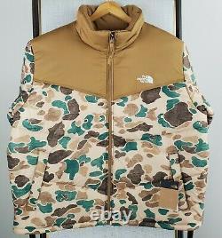 T.n.-o. 229 $ La Face Nord Taille 2xl Hommes Camouflage Camouflage Saikuru Puffer Veste