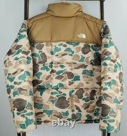 T.n.-o. 229 $ The North Face Size XL Mens Duck Frogskin Camouflage Puffer Jacket