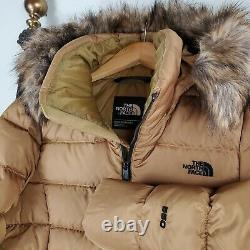 T.n.-o. 230 $ La Face Nord Taille Moyenne 550 Down Gotham Veste Femmes Brit Khaki