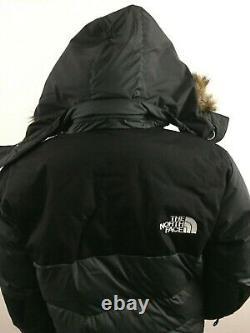 T.n.-o. Hommes Tnf La Face Nord Vostok Down Parka Insulated Winter Jacket Gris Noir