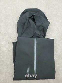 Taille Des Femmes Petite Patagonie Noire Calcite Gtx Veste De Protection Contre Le Vent De Pluie 249 $ 84996 $