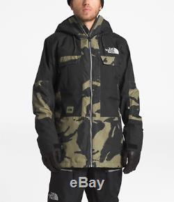 The North Face Balfron Jacket Grand Camo Pour Hommes Pdsf 199 $ Imperméable À L'eau Nouveau