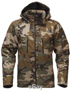 The North Face Hommes Apex Elevation Veste Soft Shell Woodland Camo Taille M L