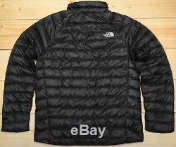 The North Face Trevail Noir 800 Veste En Sweat Puffer Puffer Pour Homme M