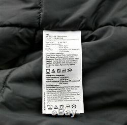 Timberland Parka Jacket Mens Taille L Gris Imperméable Respirant