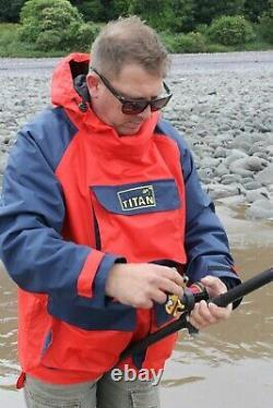 Titan Exeat 25 Breathable Waterproof Sea Angling Fishing Smock Jacket Flambant Neuf