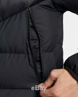 Tn Nike Sportswear Windrunner Bas Puffer Coat Jacket Mens XXL Noir