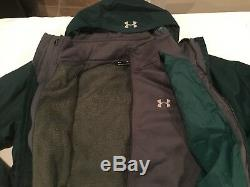 Tn-o. 199,99 $ Under Armour Manteau Cg Porter Pour Homme, 3-en-1, Vert Arden Taille XL