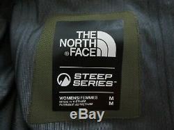 Tn-o Femmes The North Face Fuse Brigandine Gore Tex Shell Ski Jacket Gtx Olive