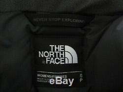 Tn-o Femmes The North Face Tnf Arctic II 550 Parka Chaud Vers Le Bas D'hiver Veste Grise